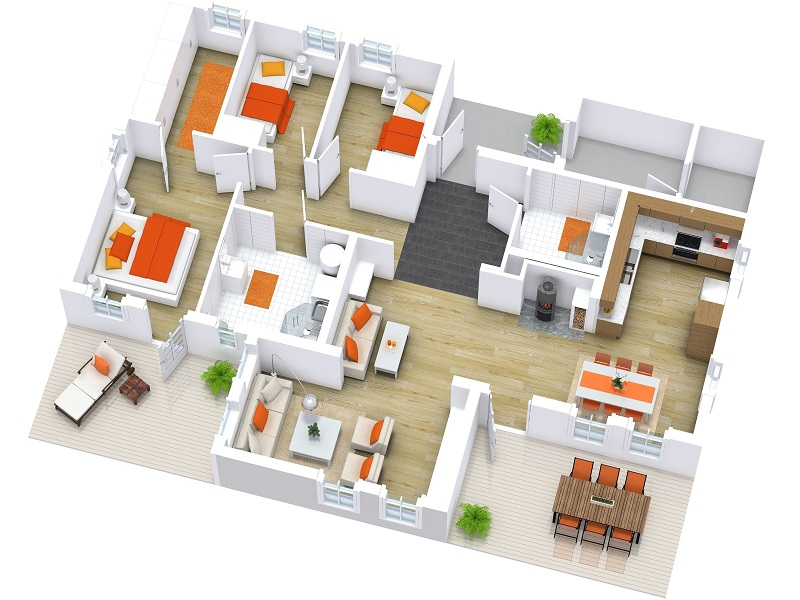 Spacious Rooms Offered with Florence Residences Floor Plans