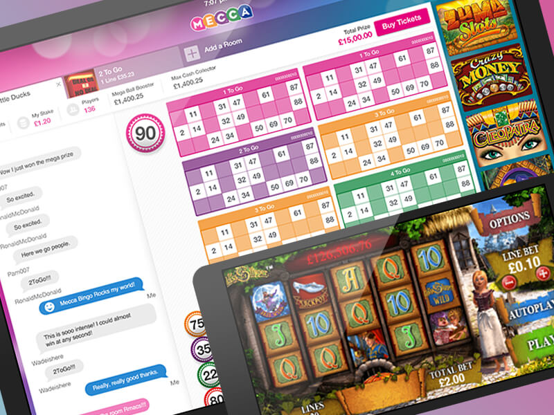 Games to experience on Bingo Websites